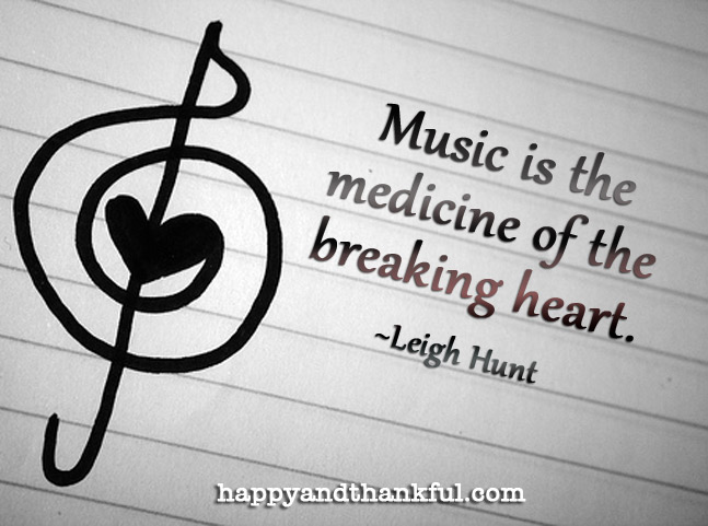 Music Medicine Broken Heart