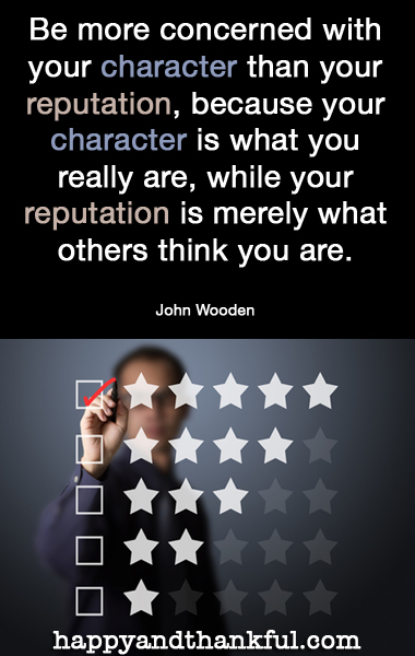 Character Reputation
